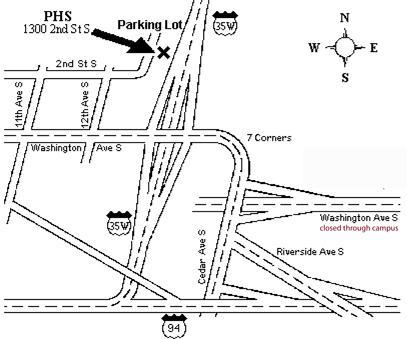 PHS Clinic Map